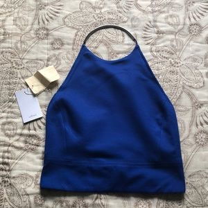Electric Blue Crop top - ARITZIA